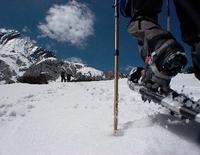 Geführte leichte Schneeschuhwanderung