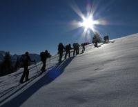 Schneeschuh/ Schlittentour