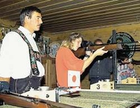 Sport Shooting for Guests (Air Rifle) Competing for the Krün Guest Marksman's Pin (12 Years or Older