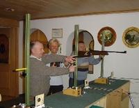 Luftgewehrschiessen für Gäste
