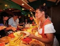 Schmankerlpromenade der Krüner Gastronomie