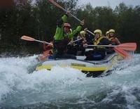 Rafting auf der Isar