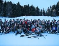 Nostalski-Historisches Skirennen mit zünftig, gemütlichem Fest wie in alter Zeit