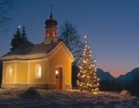 Christandacht an der Kapelle Maria Rast