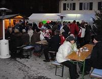 Schneefest am Dorfplatz