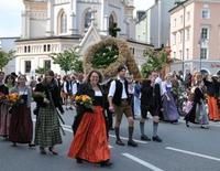 Herbstfest Rosenheim - Ernte-Dank-Kirchenzug, Gottesdienst & Festzug