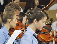 Advent concert of the Youth orchestra