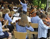 Sommerkonzert des Mittenwalder Jugendorchesters