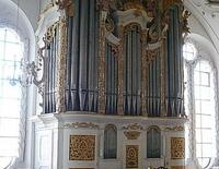 Orgelmusik in der Basilika: Festliche Barockmusik an Kirchweih für 2 Trompeten und Orgel