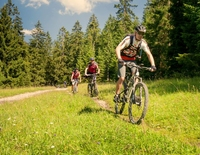 Geführte Mountainbiketour -  E-Bikefahrer sind ebenfalls herzlich Willkommen!