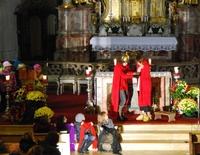 Kindergottesdienst zu St. Martin, Martinszug und Martinsfeier