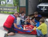 Kinderprogramm: Besuch bei der Bergwacht
