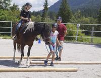 Kinderprogramm - Pferdewochenende bei den Isarhof-Curlys