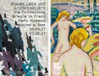 Blaues Land und Großstadtlärm - Die Fondazione Braglia im Franz Marc Museum
