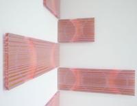 Gaby Terhuven. Lichtungen, Malerei auf Glas