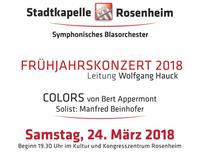 Frühjarskonzert Stadtkapelle Rosenheim