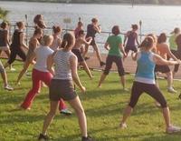 Zumba Fitness bei KURTI im LIDO am Staffelsee