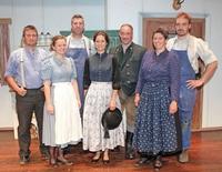 Bauerntheater der Theatergruppe Krün mit dem Stück: