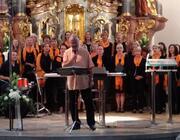 Gospel & More in Concert - das renommierte Vokalensemble der Musikschule wieder einmal am Mariahilfberg