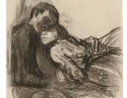 Käthe Kollwitz - Paare, verbunden in Liebe und Schmerz