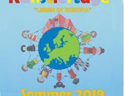 """Ferienbetreuung - Kinderkünstlertage mit dem Thema """"LEBEN IN EUROPA"""""""