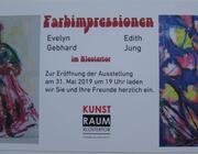 Evelyn Gebhard und Edith Jung: Farbimpressionen