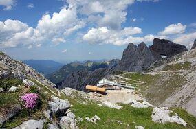 Rundblickerklärung am Karwendel mit Luitpold Wurmer