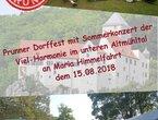 Prunner Dorffest 2018