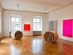 Rupprecht Geiger  Rudolf Wachter - Farbe und Skulptur