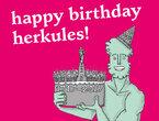 Herkules Geburtstagsfest