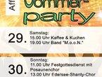 Sommerparty Affoldern