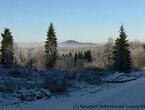 Die mittelalterliche Stadt Landsberg im Winter