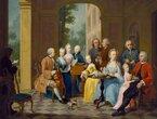 Repräsentation versus Natürlichkeit: Familienporträts im 18. Jahrhundert