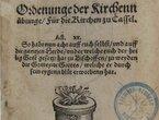 Die »Ziegenhainer Zuchtordnung« von 1539. Ihr Zweck und ihre Mittel