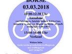 12. Wolfhager Fahrradbörse am 3. März 2018 im Autohaus Güde