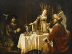 Schicksale am Esstisch. Biblische Gastmahle und ihre Folgen