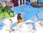 Zu Tisch: 7-Gänge Menü mit historischem Gast