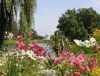 Dichterblüten im Abendrot, eine lyrische Führung mit Gedichten & Zitaten von Goethe, Rilke und Foerster