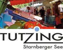 Tutzinger Wochenmarkt - vor dem Rathaus