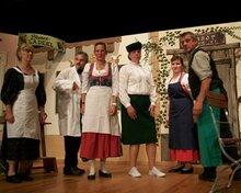 Wallgauer Bauerntheater auf der Floßbühne