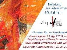 Jubiläumsausstellung 10 Jahre KulturArt am See