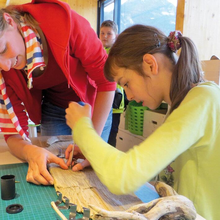 Forschen und Werken für Kinder