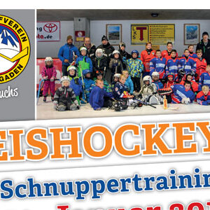 Eishockey - Schnuppertraining