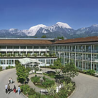 Katholischer Gottesdienst in der Schön Klink Berchtesgadener Land