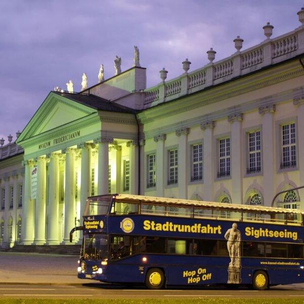 Stadtrundfahrt Kassel mit dem Doppeldecker Bus / Sightseeing Kassel with the double-decker bus