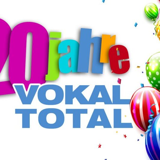 20 Jahre VOKAL TOTAL - Das GlasBlasSing Quintett (Berlin)