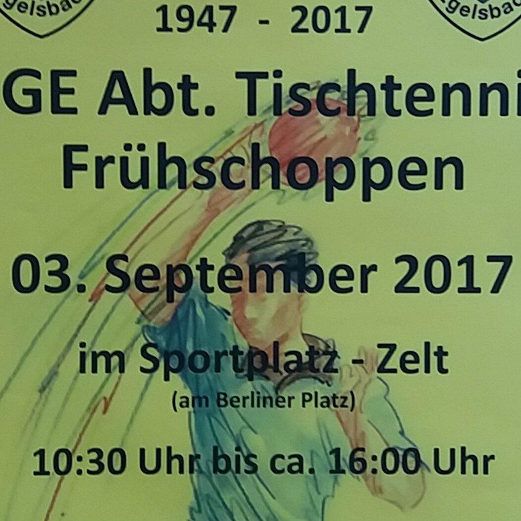 Frühschoppen der SGE Abt. Tischtennis