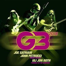 G3 Tour 2018 - JOE SATRIANI - JOHN PETRUCCI - ULI JON ROTH
