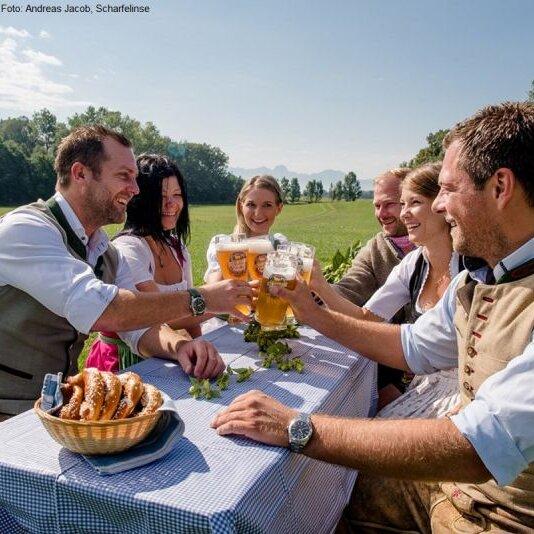 Hopfengartenführung mit Bierverkostung