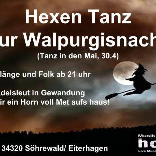 Hexen Tanz zur Walpurgisnacht